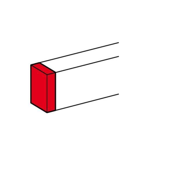 Заглушка торцевая для односекционных кабель-каналов DLP 35/50х80 Leg 010722
