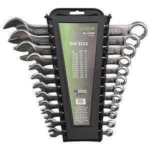 Набор гаечных ключей с кольцом/зевом (12 предметов) HAUPA 110250