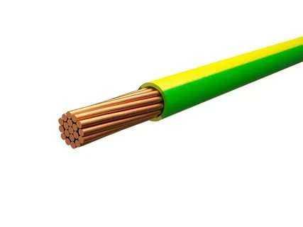 Провод ПуГВ 1 Ж/З (бухта) (м) ЭлектрокабельНН M0001035