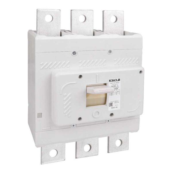 Выключатель автоматический 630А 5000Im ВА57-39-340010 УХЛ3 690В AC КЭАЗ 109886