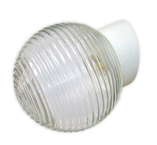 """Светильник НББ 64-60-080 """"Кольца"""" d150 1х60Вт E27 IP20 корпус наклонный бел. Элетех 1005100147"""