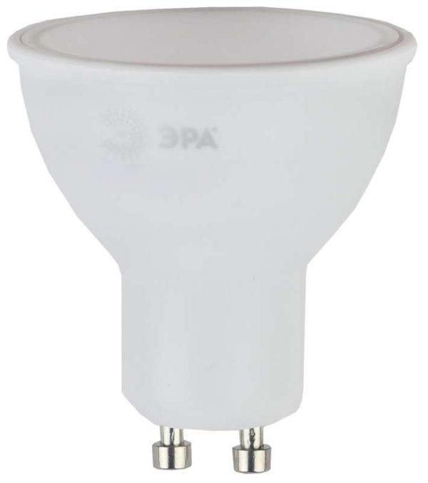 Лампа светодиодная MR16-6w-840-GU10 480лм ЭРА Б0020544