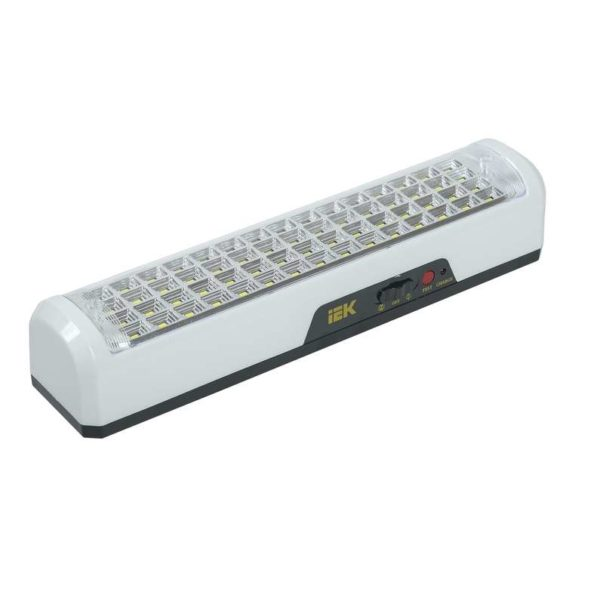 Светильник ДБА 3928 аккумулятор 15ч 12Вт ИЭК LDBA0-3928-60-K01
