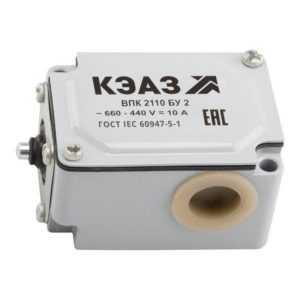 Выключатель путевой ВПК 2110Б У2 КЭАЗ 151288