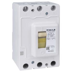 Выключатель автоматический 63А 630Im ВА57Ф35-340010 УХЛ3 400В AC КЭАЗ 151417