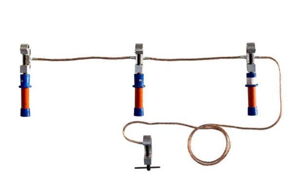 Заземление переносное ПЗРУ-1 Д для распред. устр. до 1кВ 16кв.мм Диэлектрик Д157668