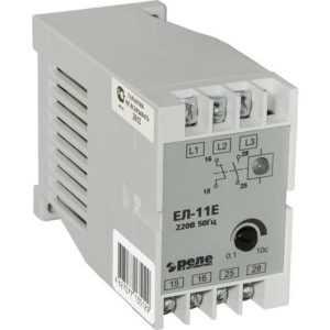 Реле контроля фаз ЕЛ-11Е 380В 50Гц Реле и Автоматика A8222-77135136