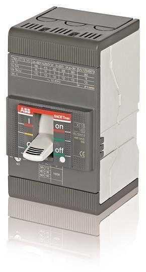 Выключатель автоматический 3п XT1B 160 TMD 63-630 3p F F ABB 1SDA066805R1