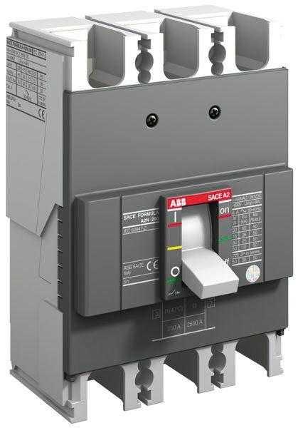 Выключатель автоматический 3п A2C 250 TMF 250-2500 3p F F ABB 1SDA070338R1