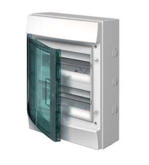 Бокс настенный 24М прозр. дверь Mistral65 (с клемм) ABB 1SLM006502A1204