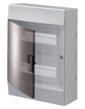 Бокс настенный Mistral41 24М прозр. дверь (с клемм.) ABB 1SPE007717F9993