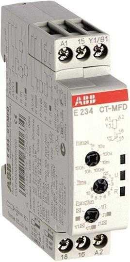 Реле времени CT-MFD (0.05с-100ч) 1ПК ABB 1SVR500020R0000