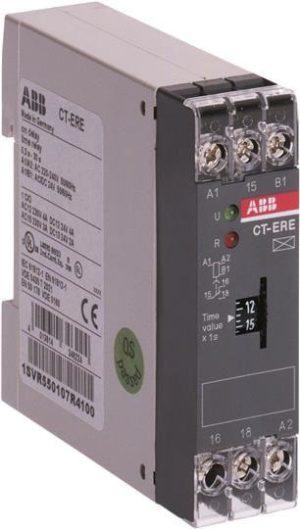 Реле времени CT-ERE 24В AC/DC 220-240В AC (0.1-10c) 1ПК ABB 1SVR550107R1100