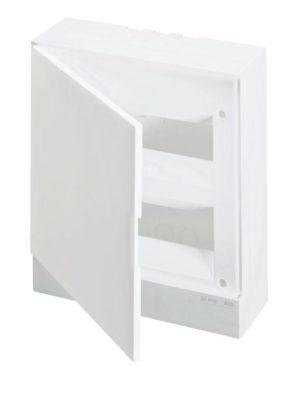Бокс настенный Basic E 24М бел. непрозр. дверь (с клемм) ABB 1SZR004002A2107