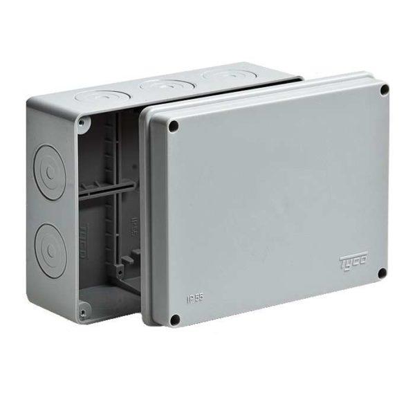 Коробка распределительная ОП 200х140х75мм IP55 без гермет. Рувинил 67056