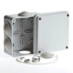 Коробка распределительная ОП 100х100х50мм IP54 Рувинил 67050