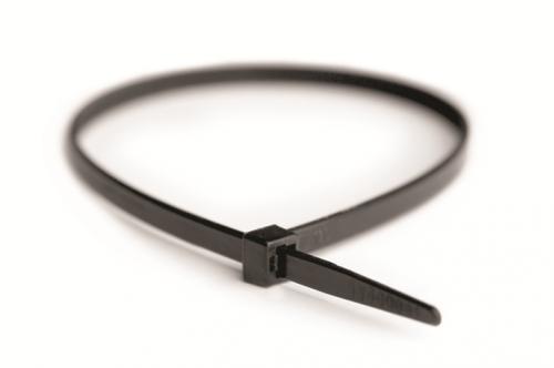 Хомут кабельный 2.6х200 полиамид черн. (уп.100шт) DKC 25307