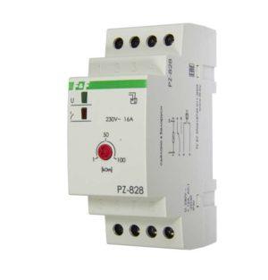 Реле уровня PZ-828 (одноуровневый монтаж на DIN-рейке 35мм 230В AC 16А 1перкл. IP20) F&F EA08.001.00
