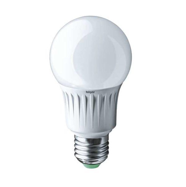 Лампа светодиодная 94 388 NLL-A60-10-230-4K-E27 10Вт грушевидная 4000К бел. E27 820лм 170-260В Navig