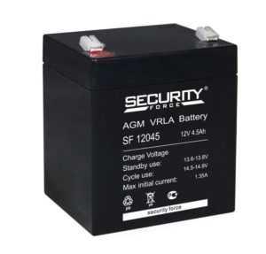 Аккумулятор 12В 4.5А.ч Security Force SF 12045