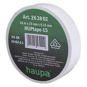 Изолента ПВХ 19мм (рул.20м) бел. HAUPA 263844