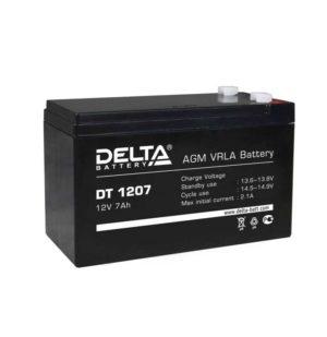 Аккумулятор 12В 7А.ч Delta DT 1207