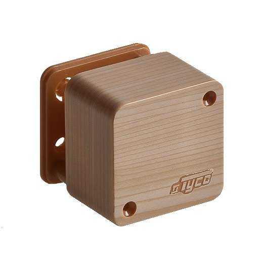Коробка распределительная ОП 55х55х32мм IP40 сосна (светл. основа) Рувинил 65002-27М