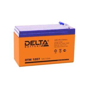 Аккумулятор 12В 7А.ч. Delta DTM 1207