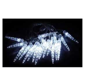 """Гирлянда """"Сосульки"""" ILD020W-AY/IC 20LED 5.6м бел. SHLights 4607144113229"""