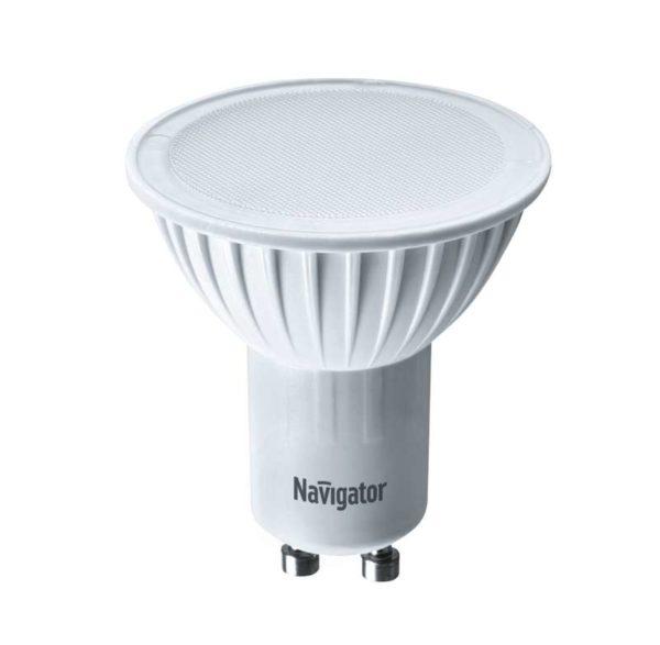 Лампа светодиодная 94 226 NLL-PAR16-7-230-3K-GU10 7Вт 3000К тепл. бел. GU10 480лм 170-260В Navigator