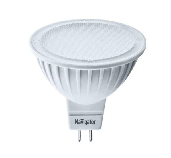 Лампа светодиодная 94 244 NLL-MR16-7-230-3K-GU5.3 7Вт 3000К тепл. бел. GU5.3 480лм 170-260В Navigato
