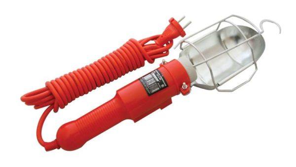 Светильник переносной ПВС 2х0.75 с выкл. и розеткой 5м 220В UNIVersal 966U-0205