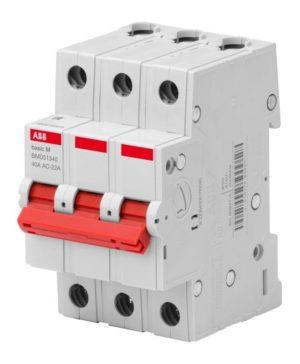 Выключатель нагрузки мод. 3п 40А Basic M BMD51340 ABB 2CDD643051R0040