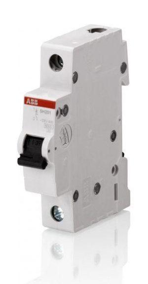 Выключатель автоматический модульный 1п C 40А 4.5кА SH201L C40 ABB 2CDS241001R0404