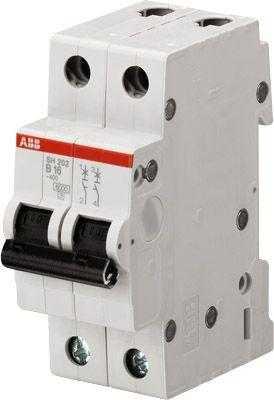 Выключатель автоматический модульный 2п C 40А 4.5кА SH202L C40 ABB 2CDS242001R0404