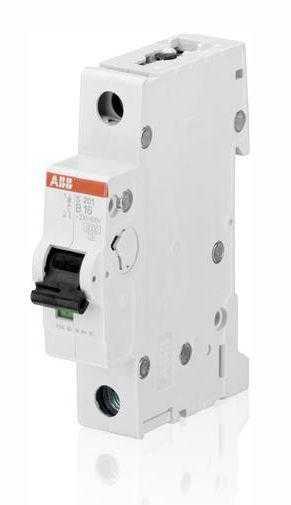 Выключатель автоматический модульный 1п B 16А 6кА S201 B16 ABB 2CDS251001R1165