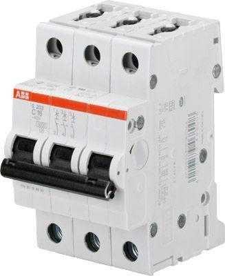 Выключатель автоматический модульный 3п C 32А 6кА S203 C32 ABB 2CDS253001R0324