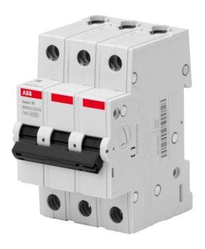 Выключатель автоматический модульный 3п C 25А 4.5кА Basic M BMS413C25 ABB 2CDS643041R0254