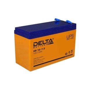 Аккумулятор 12В 7.2А.ч. Delta HR 12-7.2