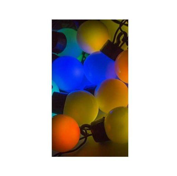 "Гирлянда ""LED-Шарики"" 5м d=30мм 25LED RGB темно-зел. провод 6Вт 220В IP20 NEON-NIGHT 303-569"