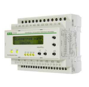 Устройство управления резервным питанием AVR-02 (3х400В+N; 5 перекл. х8А; IP20) F&F EA04.006.004