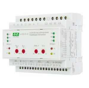 Устройство управления резервным питанием AVR-01-K (2 ввода; 1 нагрузка 35мм 3х400В+N 2х16А 2P IP20 м