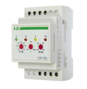 Реле напряжения CP-731 (трехфазный; микропроцессорный; контроль верхнего и нижнего значений напряжен