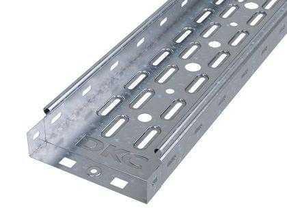 Лоток листовой перфорированный 200х50 L2000 сталь 0.8мм DKC 35254