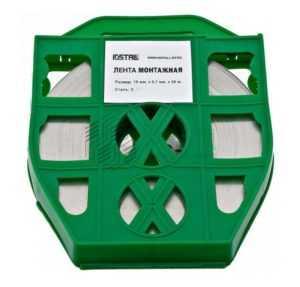Лента бандажная C202 20х50 пластик (F 207; COT 37; F 2007; F 20.7; F 20; ЛМ-50) (уп.50м) ИНСТАЛЛ 410