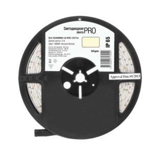 Лента светодиодная 71 704 NLS-3528WW60-4.8-IP65-12V-Pro R5 4.8Вт/м (уп.5м) Navigator 71704