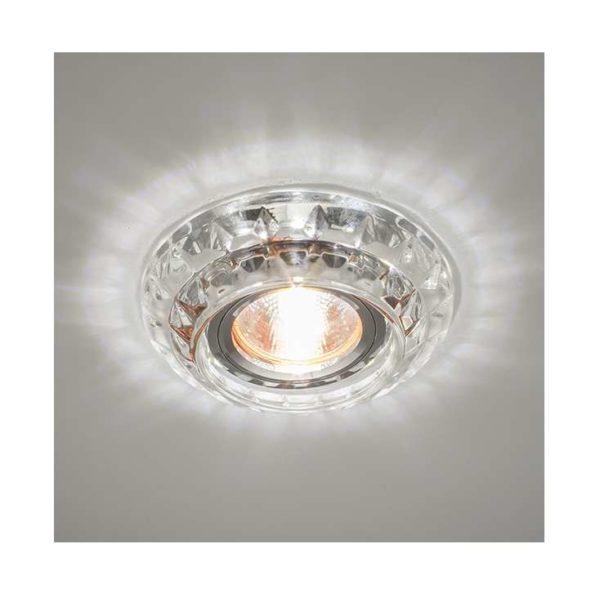 Светильник Bohemia LED 51 1 70 декор. из огран. стекла со светодиод. подсветкой MR16 прозр. ИТАЛМАК