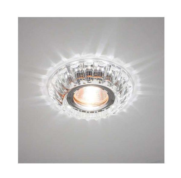 Светильник Bohemia LED 51 2 70 декор. из огран. стекла со светодиод. подсветкой MR16 прозр. ИТАЛМАК