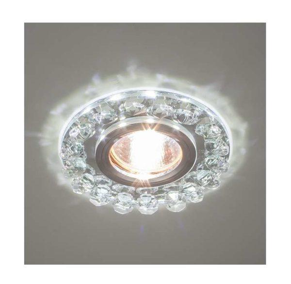 Светильник Bohemia LED 51 4 70 декор. из огран. стекла со светодиод. подсветкой MR16 ИТАЛМАК IT8501