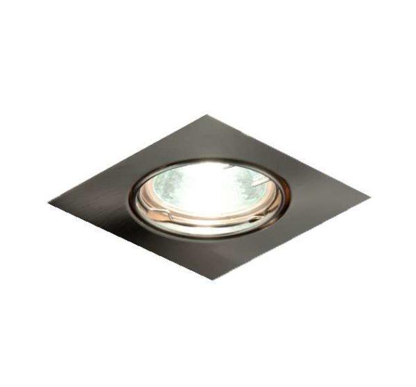 Светильник Ferrum 51 3 06 с галоген. лампой литой поворот. MR16 никель ИТАЛМАК IT8007